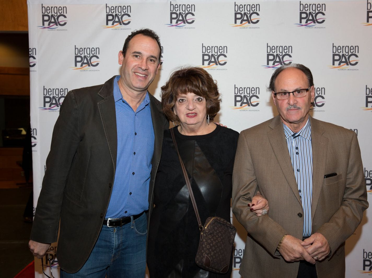 Devin Cohan, Doreen and Allen Fischbein. BergenPAC held its annual fall gala featuring John Fogerty in Englewood. This year's honoree was Fernando Garip, from Wilmington Trust and M&T Bank. 11/08/2018
