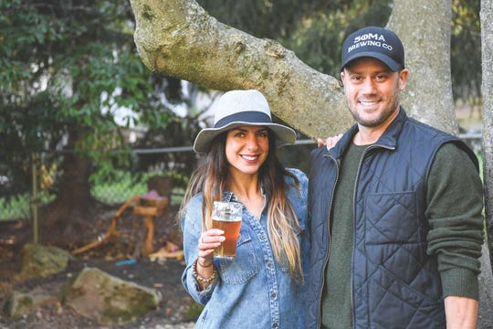 Farnaz and Adam Heydt, two of the owners of Soma Brewing Company in Maplewood