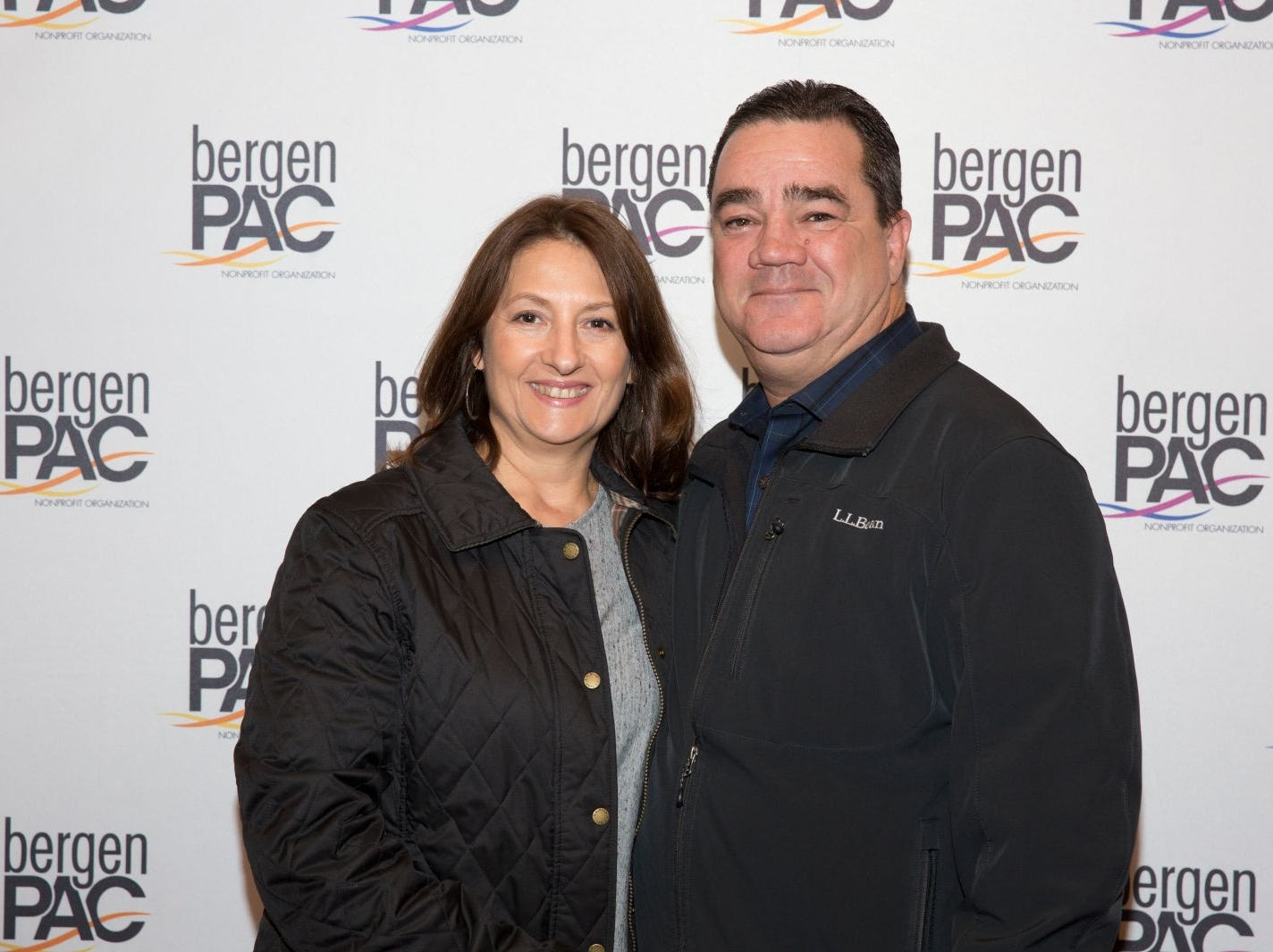 Nicholas Manfra and Guest. BergenPAC held its annual fall gala featuring John Fogerty in Englewood. This year's honoree was Fernando Garip, from Wilmington Trust and M&T Bank. 11/08/2018