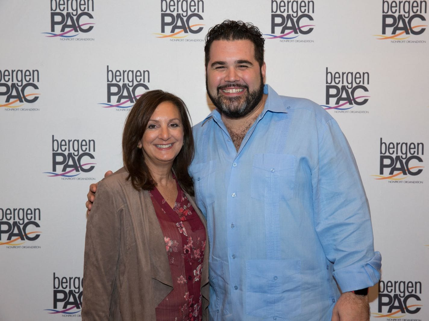 Venetia DiMarzo, Alex Diaz. BergenPAC held its annual fall gala featuring John Fogerty in Englewood. This year's honoree was Fernando Garip, from Wilmington Trust and M&T Bank. 11/08/2018