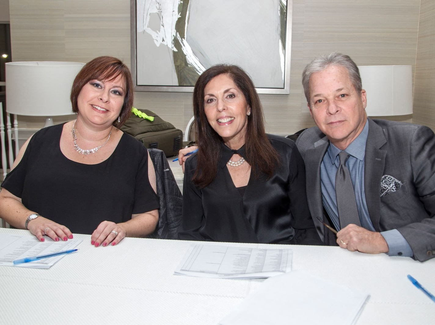 Jessica, Allison, Robert. Jewish Family & Children's Services of Northern New Jersey held its annual gala at the Edgewood Country Club in River Vale. The evening honored Shira Feuerstein, Jayne Petak, and Alan Scharfstein for their leadership, support, and dedication. 11/18/2018
