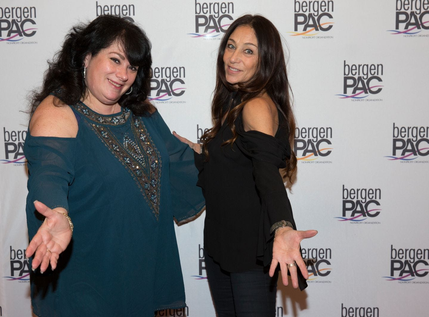 Arlene Grunfeld, Roberta Mathes. BergenPAC held its annual fall gala featuring John Fogerty in Englewood. This year's honoree was Fernando Garip, from Wilmington Trust and M&T Bank. 11/08/2018