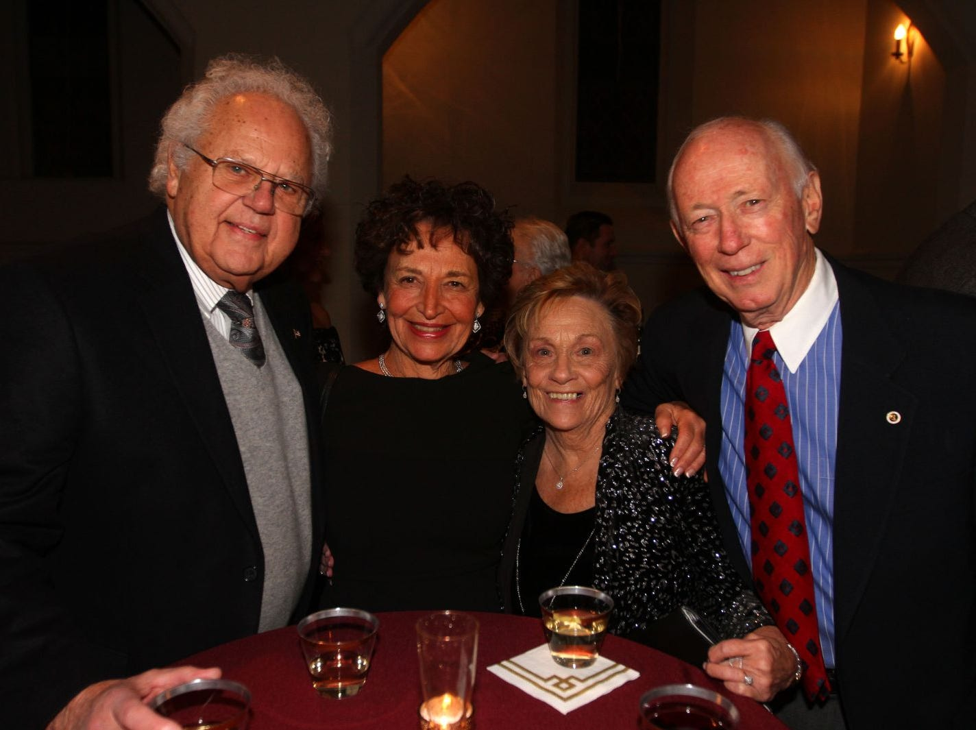 Judge Ed Torack and Joann Torack with friends. Wyckoff Family YMCA hosted its 75th anniversary gala to celebrate its benefactors, held at the Rio Vista seminary in Mahwah. 11/16/2018