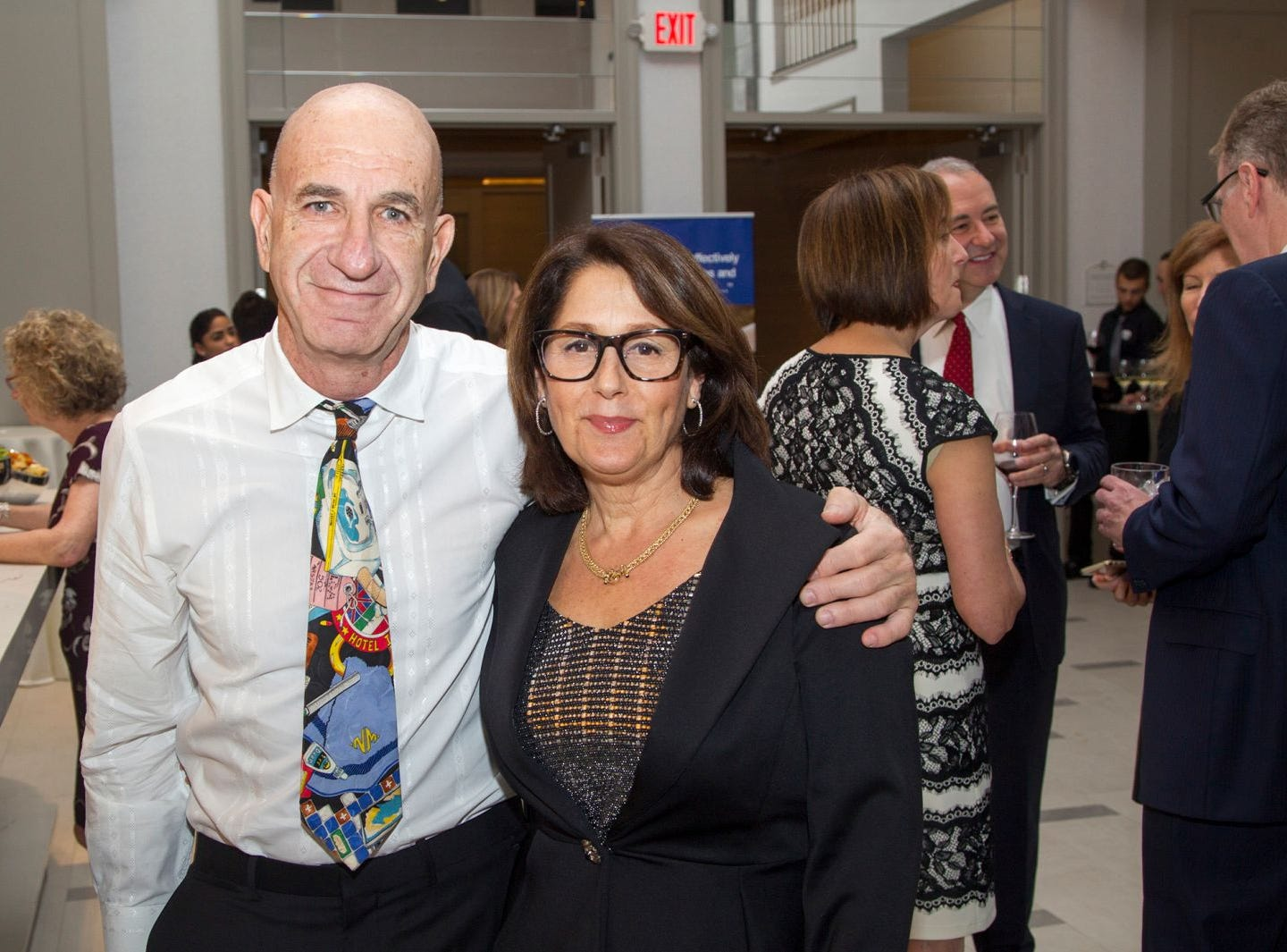Nuriel and Debbie Guedalia. Jewish Family & Children's Services of Northern New Jersey held its annual gala at the Edgewood Country Club in River Vale. The evening honored Shira Feuerstein, Jayne Petak, and Alan Scharfstein for their leadership, support, and dedication. 11/18/2018
