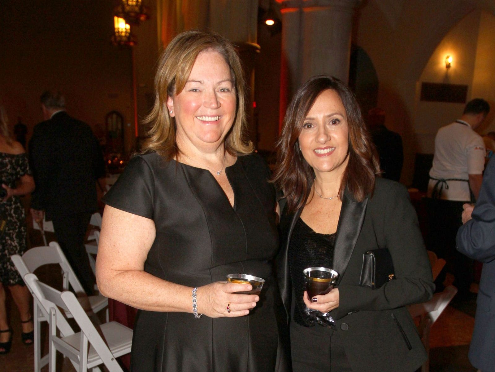 MaryBeth McGuire; Jordana Parker. Wyckoff Family YMCA hosted its 75th anniversary gala to celebrate its benefactors, held at the Rio Vista seminary in Mahwah. 11/16/2018