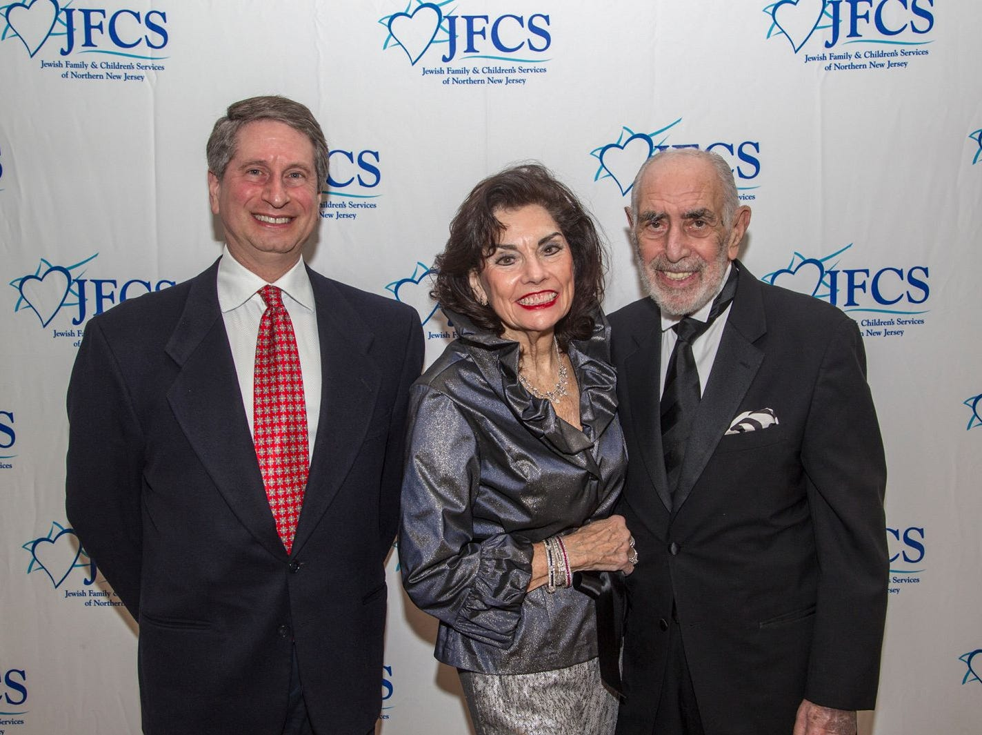 James Ackerman, Bernie and Norma Koster. Jewish Family & Children's Services of Northern New Jersey held its annual gala at the Edgewood Country Club in River Vale. The evening honored Shira Feuerstein, Jayne Petak, and Alan Scharfstein for their leadership, support, and dedication. 11/18/2018