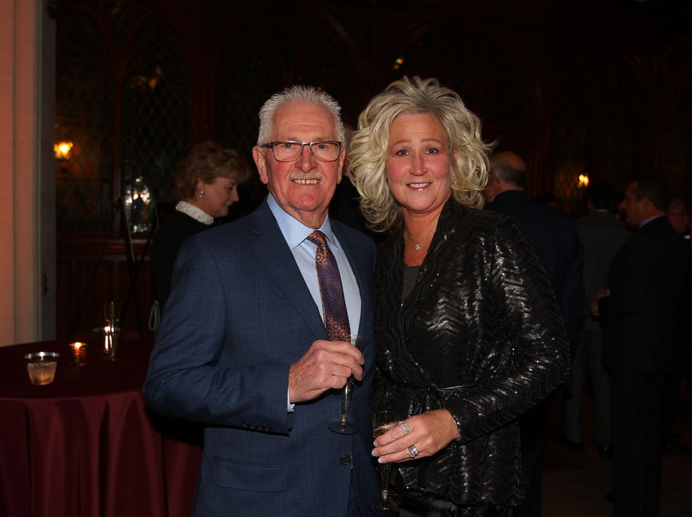 Bob and Dawn Greenway. Wyckoff Family YMCA hosted its 75th anniversary gala to celebrate its benefactors, held at the Rio Vista seminary in Mahwah. 11/16/2018