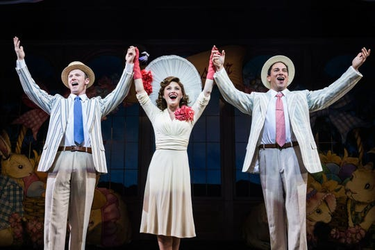 """Irving Berlin's Holiday Inn at Paper Mill Playhouse: Jeff Kready, Hayley Podschun, Nicholas Rodriguez"