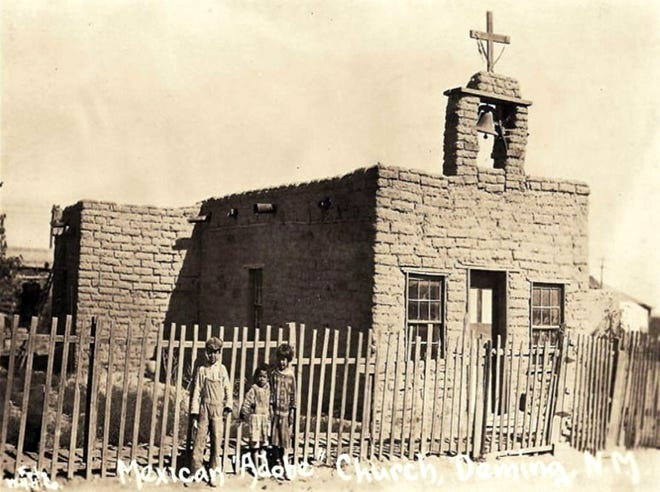 Santa Nino Chapel, built in 1900 on Deming's north side, served the Hispanic community and railroad workers.