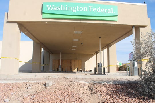 An official from Washington Federal Bank hoped to have some of its services operational in the next few days.