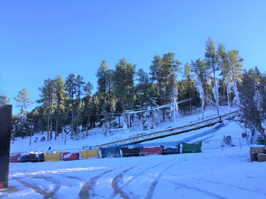 The snow has been made at Ruidoso Winter Park in preparation for opening day.