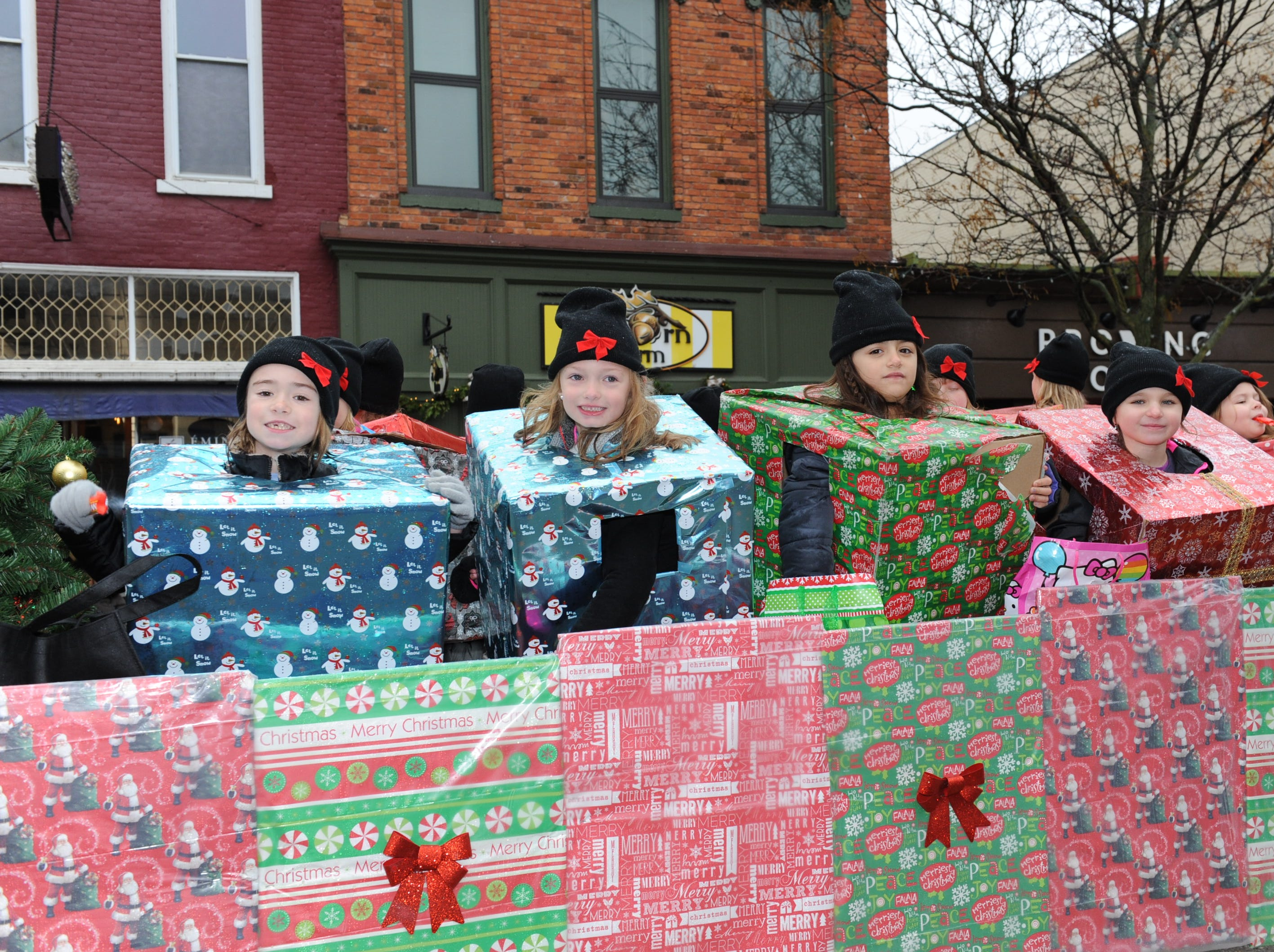 Special presents take part in the parade in Milford.