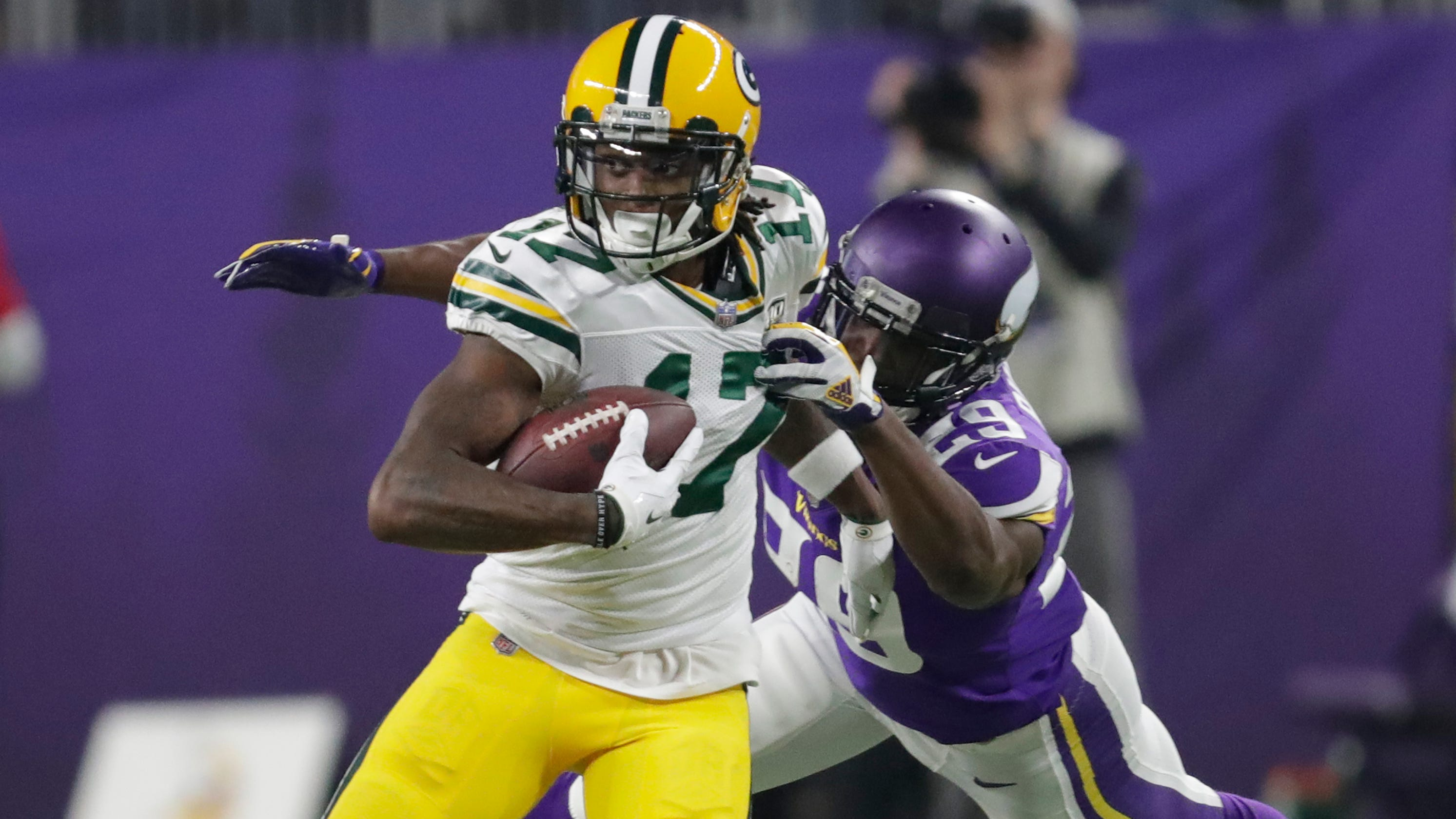 cheap for discount fde7d 9cbcb Packers Insider: Thumbs up to Davante Adams, down to ...