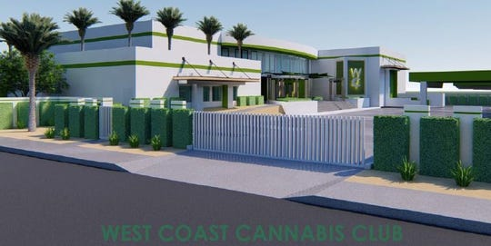 The 28,500-square-foot building, at 74425 Highway 111, will be a cannabis catch-all that includes cultivation, manufacturing, distribution and delivery services.