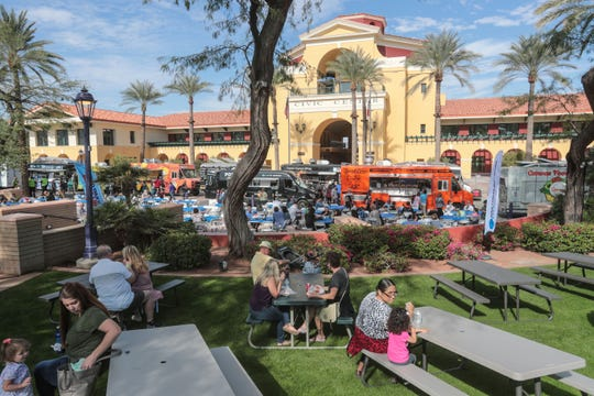 Food Truck Mashup event at the Cathedral City Civic Center on Saturday, November 17, 2018 in Cathedral City.