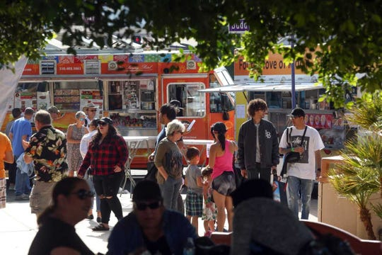 Food trucks from across the state of California came together for the Food Truck Mash-Up, which took place within the Cathedral City Hot Air Balloon