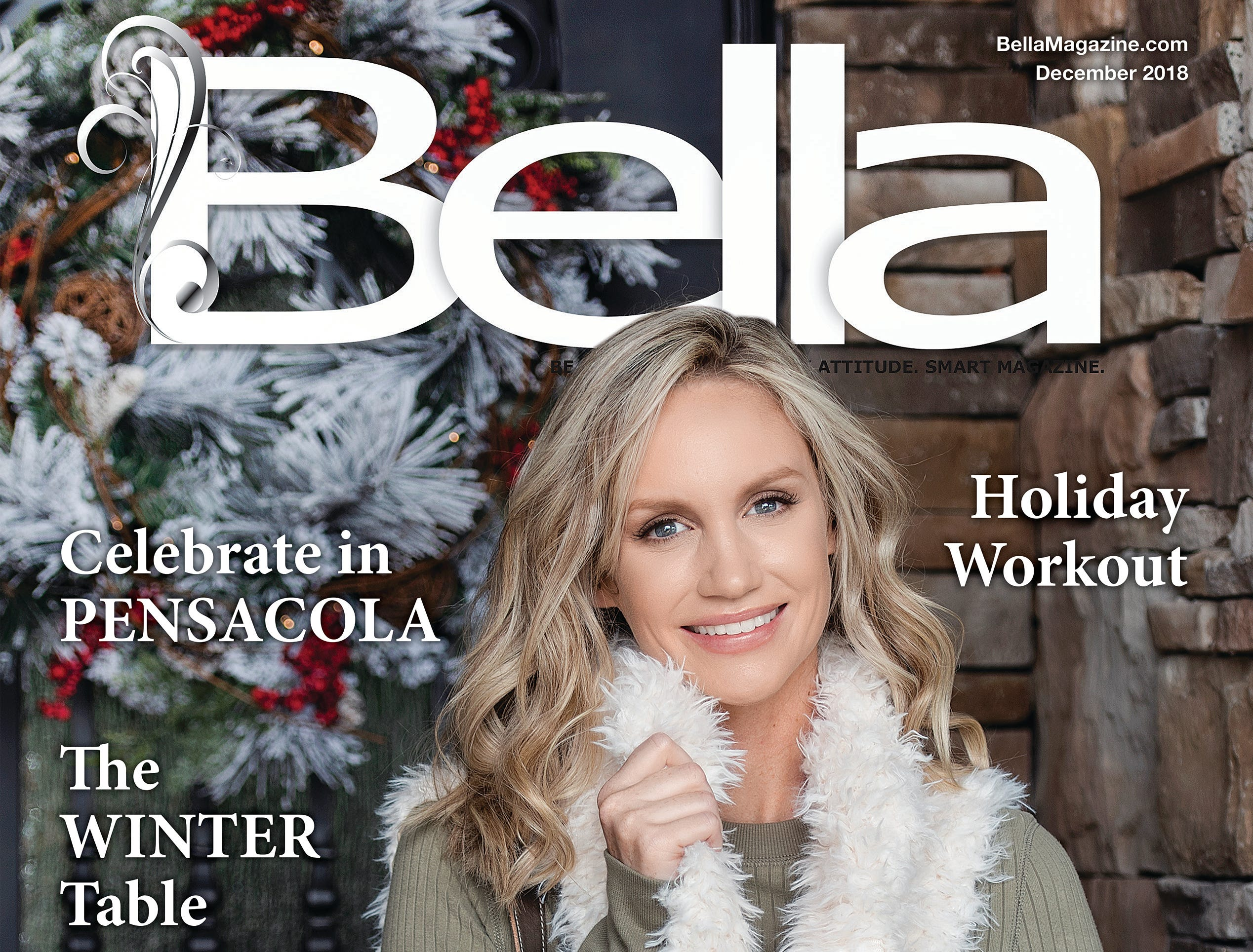 December Bella Magazine front cover model, Alli Skelton.