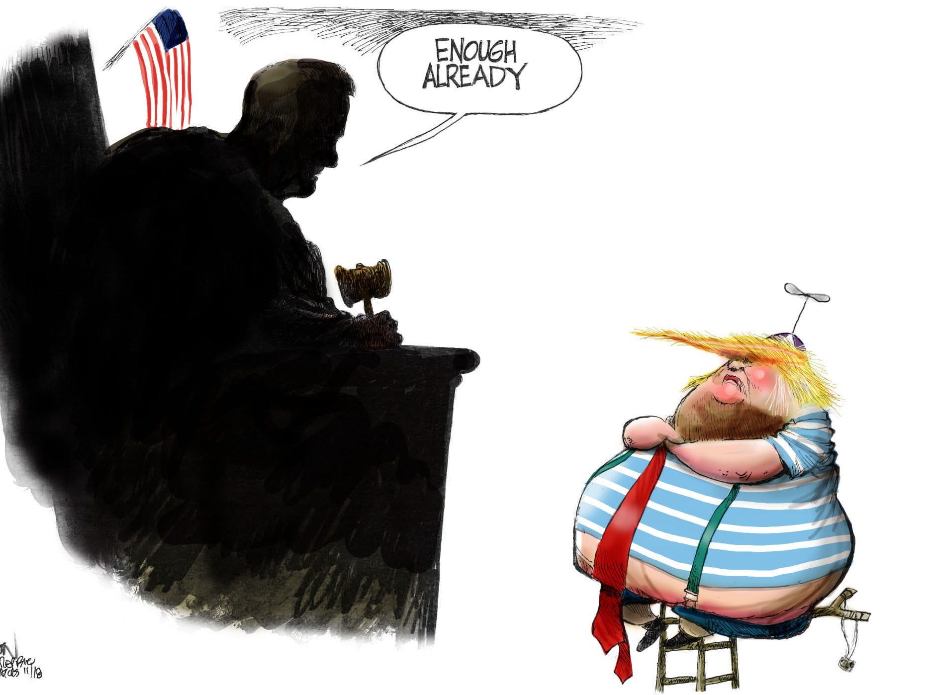 Cartoon for Nov. 26, 2018.