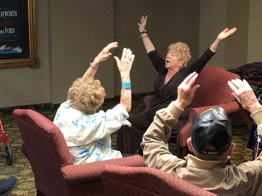 The Palazzo residents are having the time of their lives.