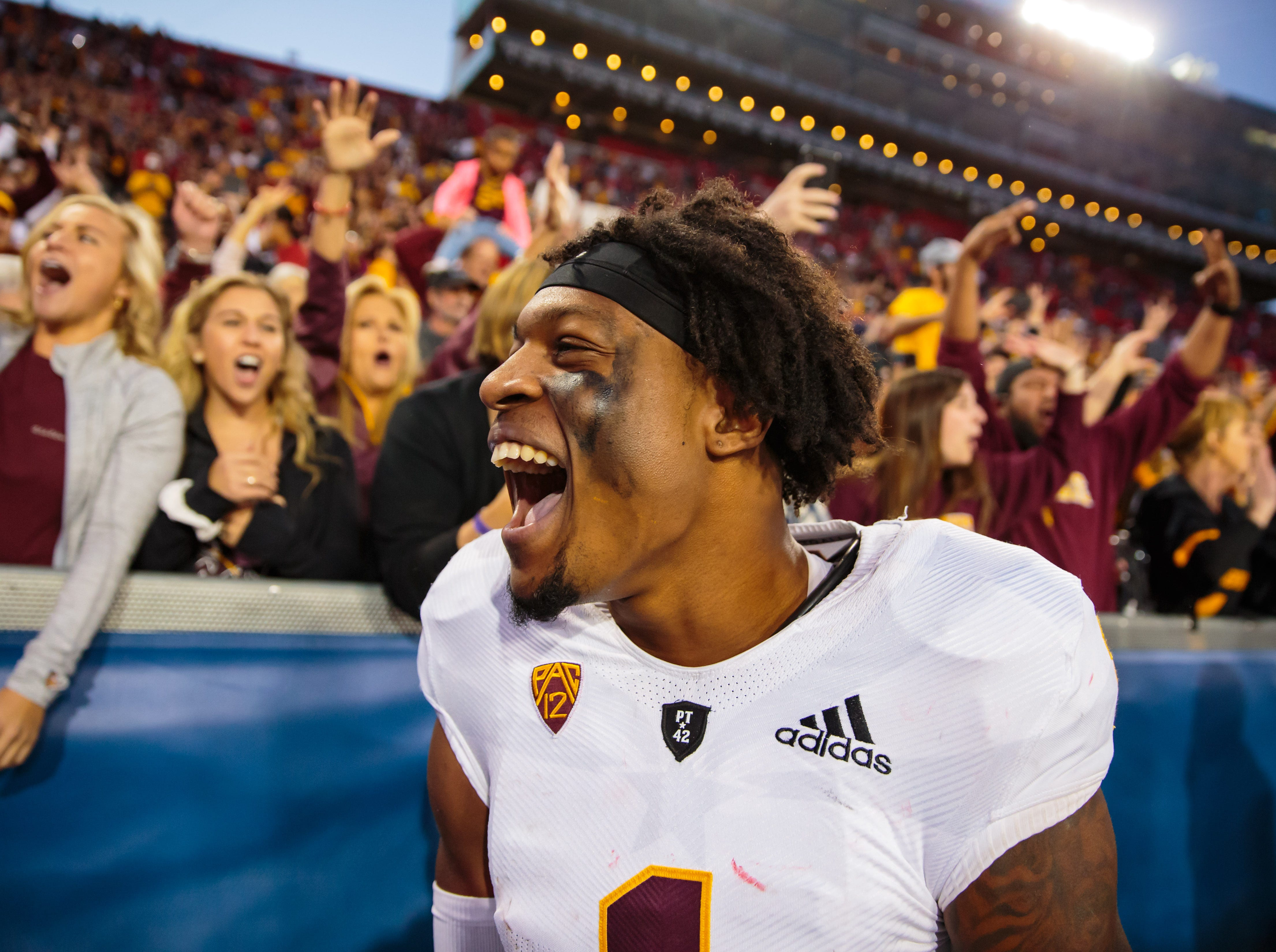 Arizona State Sun Devils wide receiver N'Keal Harry is taking his talents to the NFL draft.