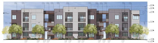 PebbleCreek Marketplace Apartments plans to offer 269 units at the corner of 159th Avenue and McDowell Road in Goodyear.