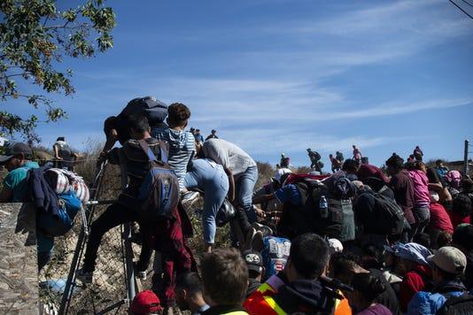 Mexico Honduras Us Migration