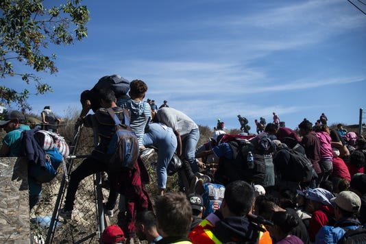 Mexico Honduras Us Migration