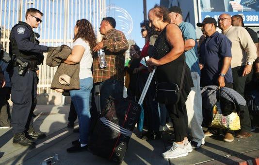 Immigrant Caravan Members Gather At U S Mexico Border