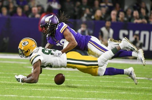 Greenbay Packers At Minnesota Vikings