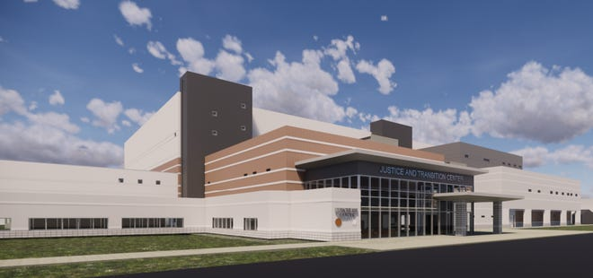Rendering of the Dutchess County Justice and Transition Center