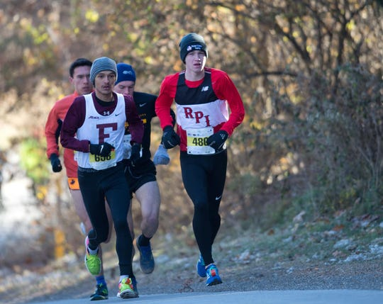 Runners take part in the Mid-Hudson Road Runners Club's Turkey Trot races on Nov. 22.