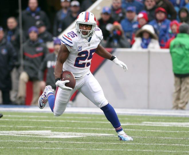 Bills running back LeSean McCoy ran for 46-yards against the Jaguars.