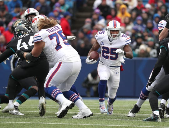 Wyatt Teller has stepped into become the starter at left guard, and the Bills like his future potential.