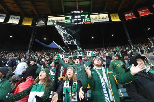 Mls Sporting Kansas City At Portland Timbers