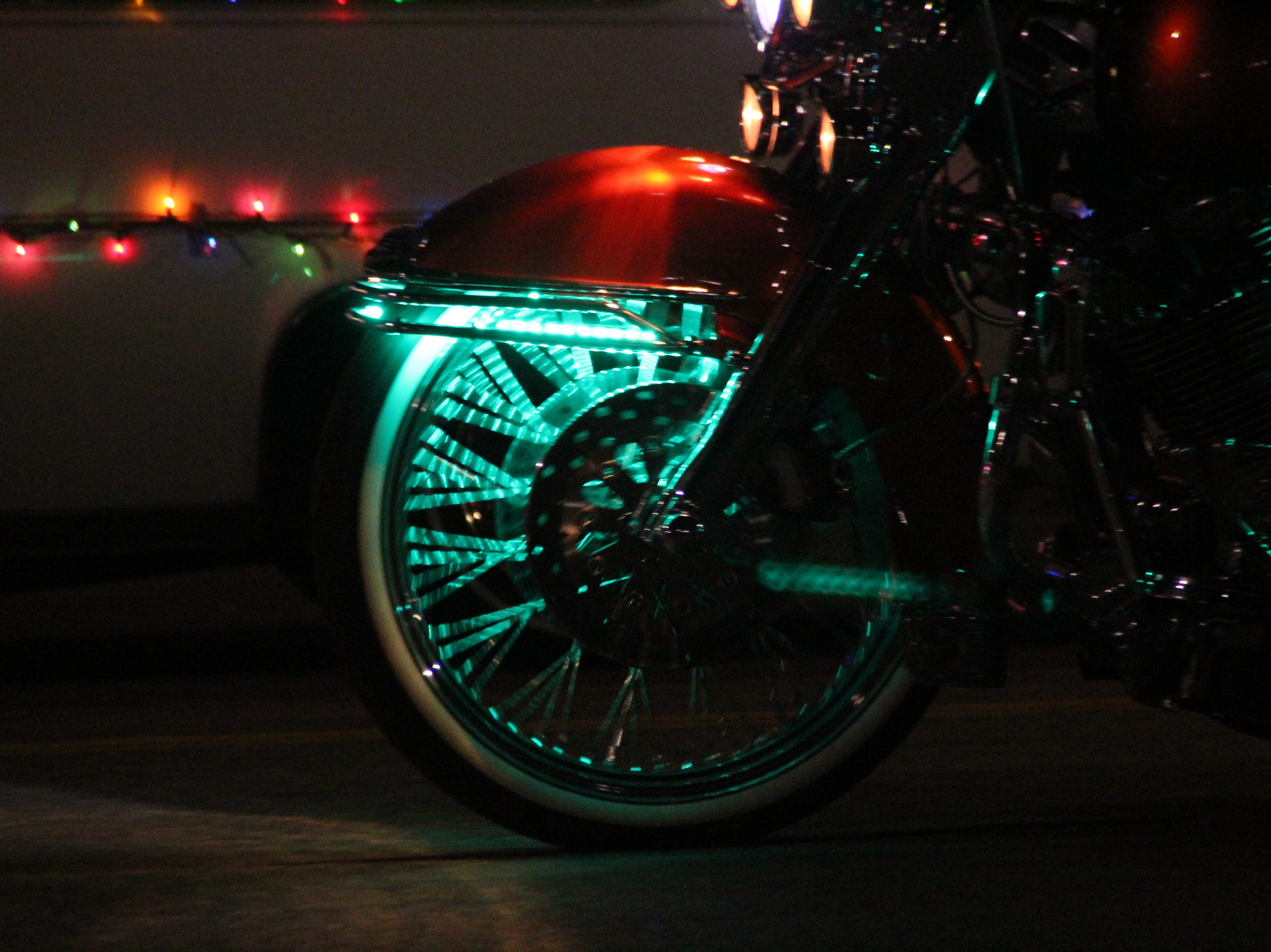 Sunday's Salinas Parade of Lights featured dancers, cars, trucks, horses and motorcycles decorated to start the holiday season.
