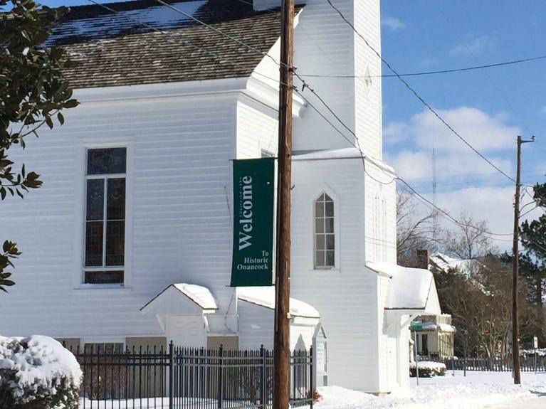 Cokesbury Church in Onancock, Virginia