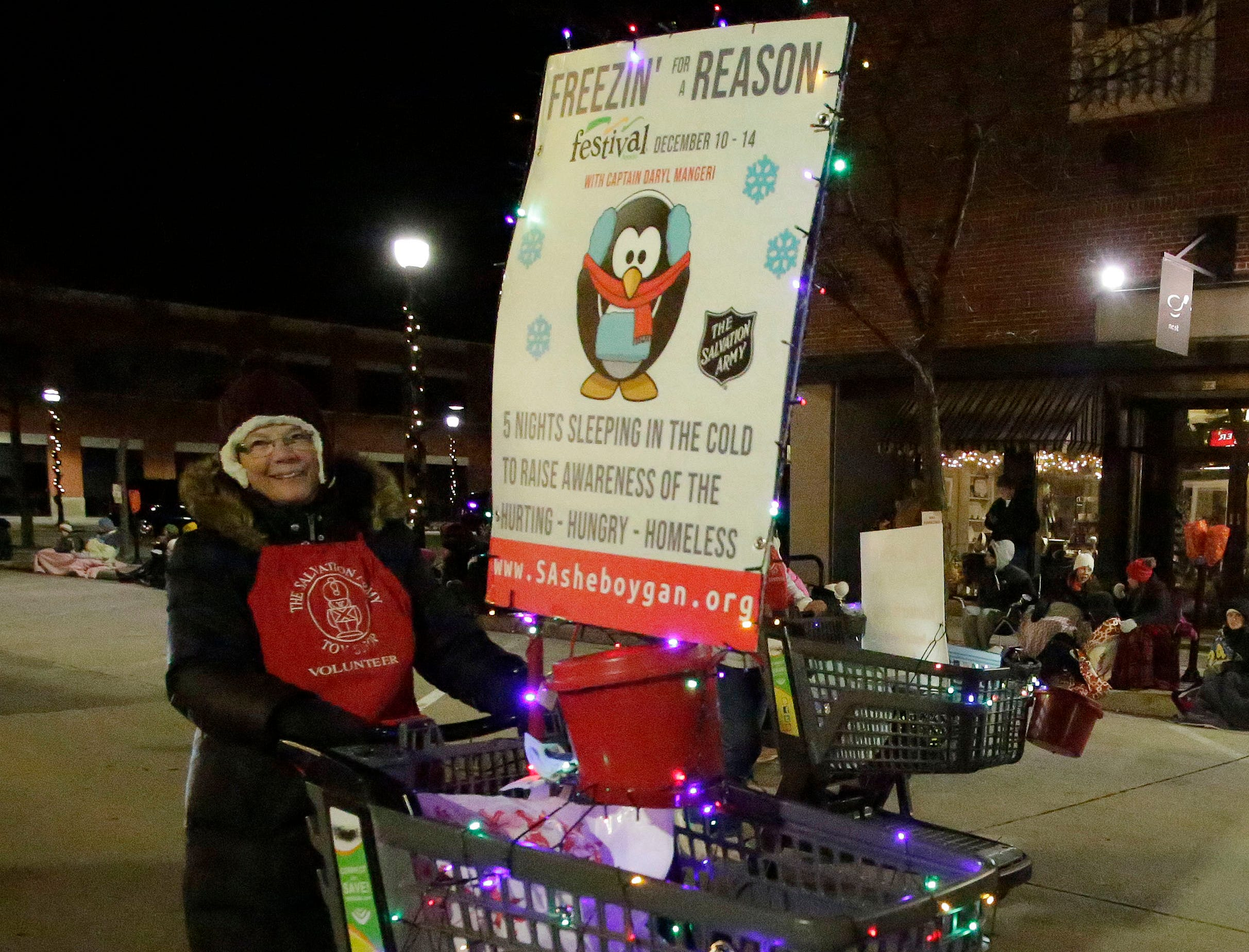 The Salvation Army was on parade at the 26th Annual Jaycees Holiday Parade, Sunday, November 25, 2018 in Sheboygan, Wis.