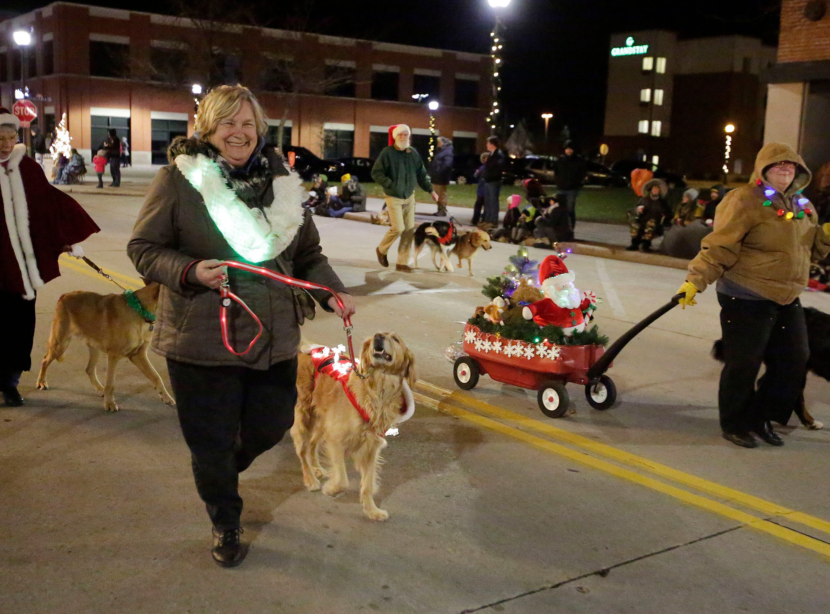 A scene from the 26th Annual Jaycees Holiday Parade, Sunday, November 25, 2018 in Sheboygan, Wis.