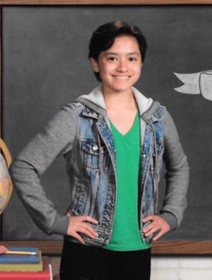 Courtney Vanderlaan, 13, was last seen in southwest Sioux Falls on Monday, Nov. 26, 2018.