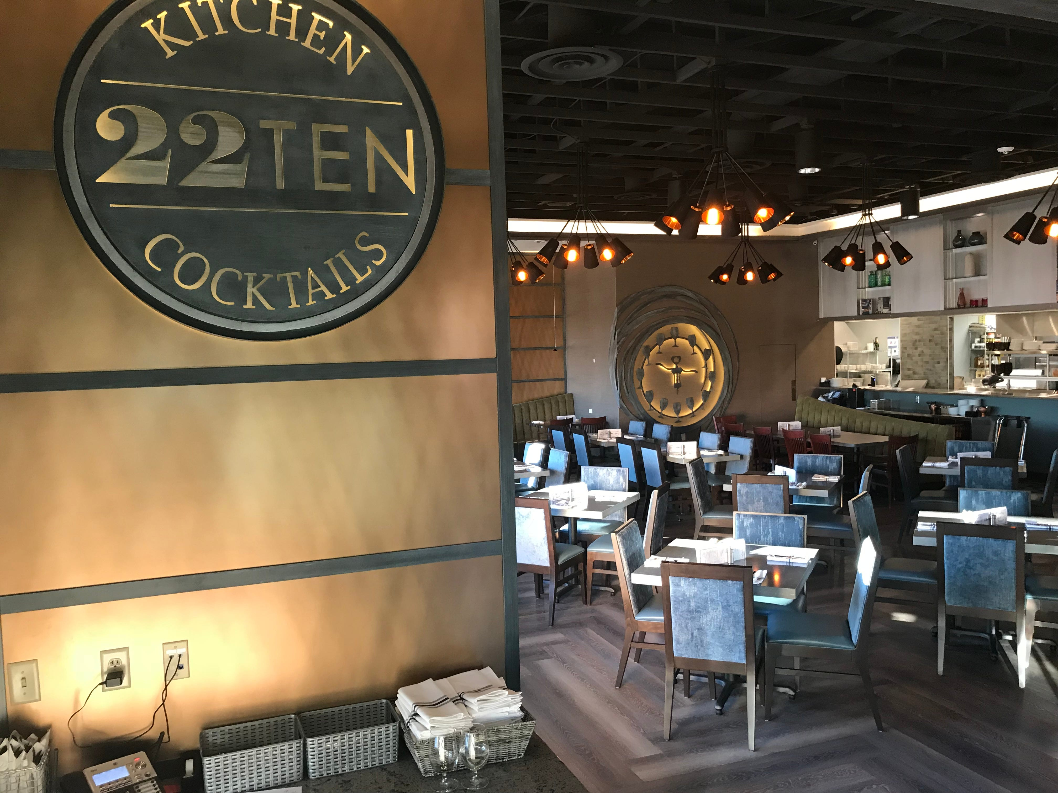 22TEN Kitchen & Cocktails opened Friday in southwestern Sioux Falls. It offers a new twist on American classics and is designed around an open concept seating area.