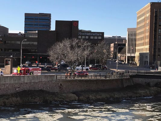 Big Sioux water rescue