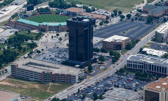 Hammons Tower and Hammons Field