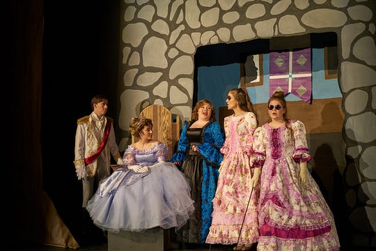 """The Kickapoo High School production of """"Into the Woods"""" was selected to perform at the Missouri State Thespian Society's annual conference in Kansas City."""