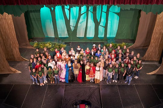 "The Kickapoo High School production of ""Into the Woods"" was selected to perform at the Missouri State Thespian Society's annual conference in Kansas City."