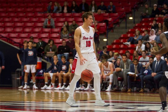 Dixie State fell behind early and couldn't complete its comeback attempt Tuesday in a 86-82 home loss to New Mexico Highlands in the first round of the RMAC conference tournament.