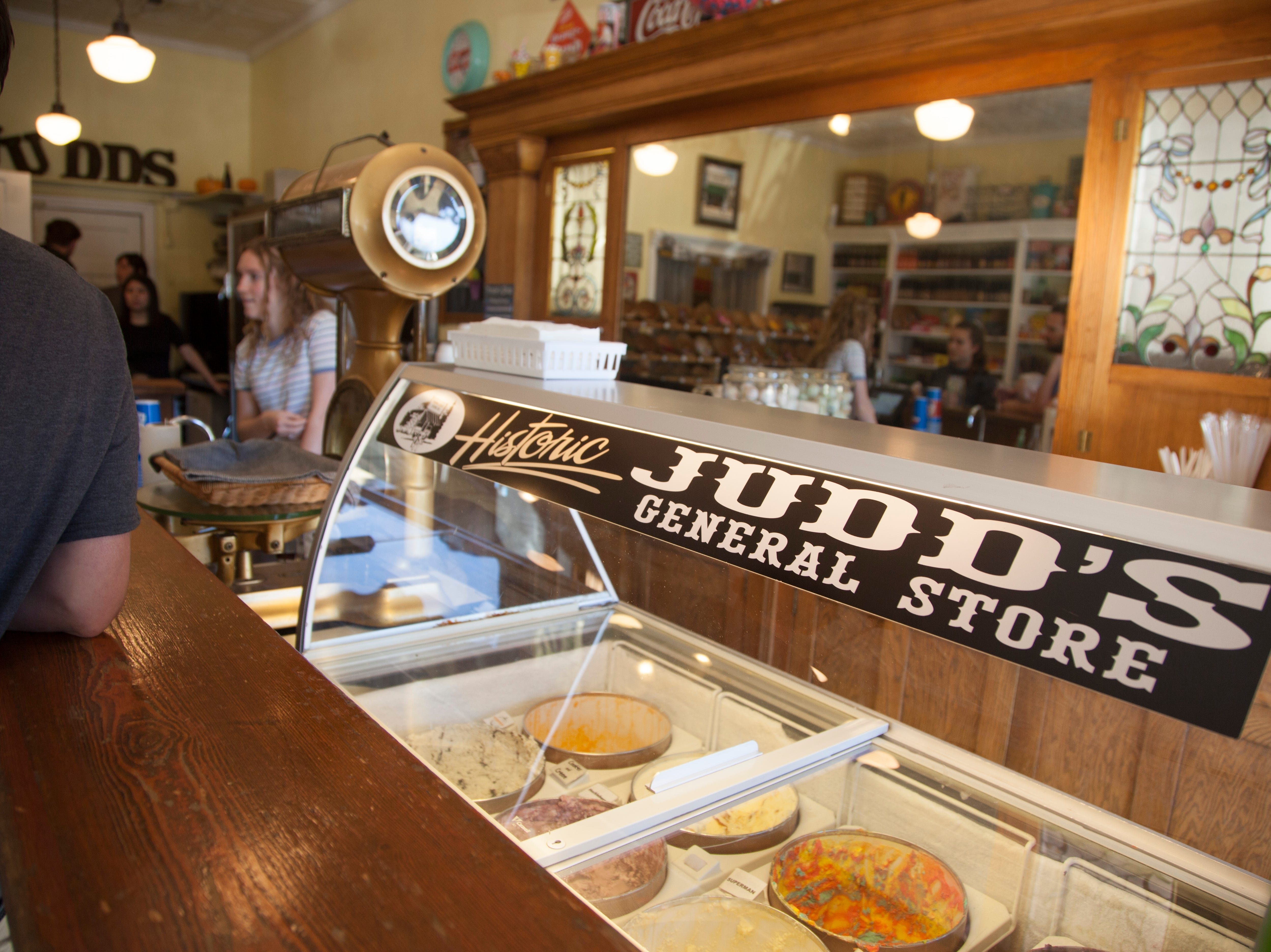 Community members recognize Small Business Saturday at Judd's Saturday, Nov. 24, 2018.