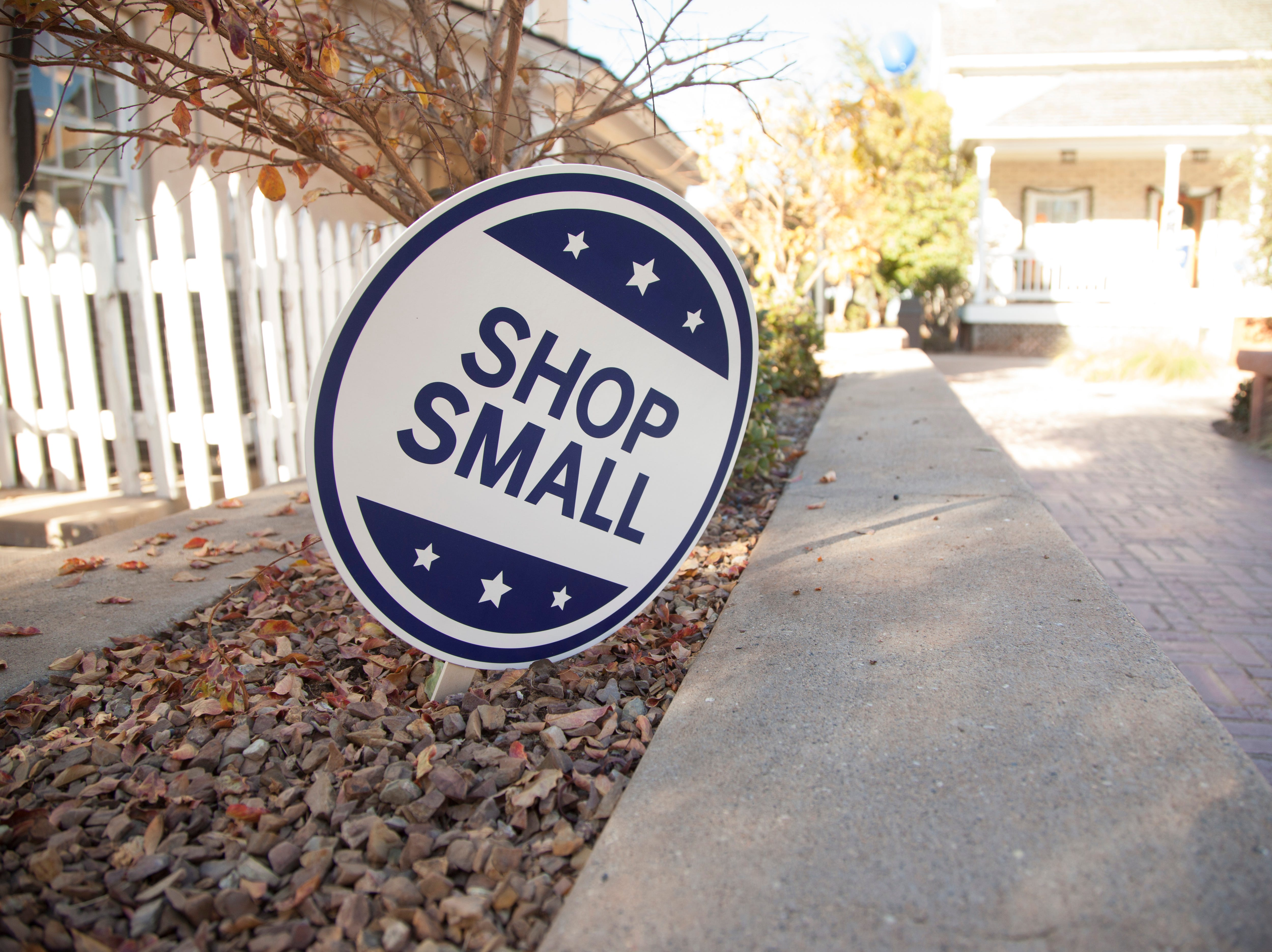 Community members recognize Small Business Saturday by supporting local businesses Saturday, Nov. 24, 2018.