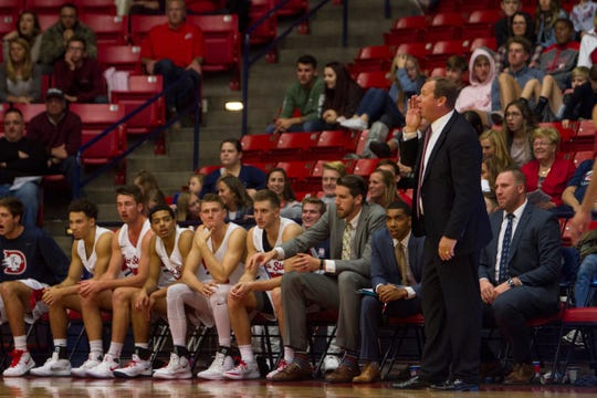Dixie State basketball defeats Western Oregon University 80-70 Saturday, Nov. 24, 2018.