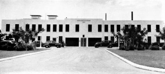 The Dade County Jail where Forrest was kept in 1938.