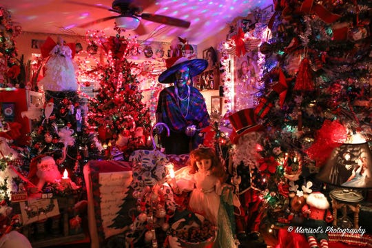 "The Port St. Lucie Christmas House is at 726 S.E. Walters Terrace. It will be open Dec. 4-18. It will be featured Nov. 26 on ABC's ""The Great Christmas Light Fight."""